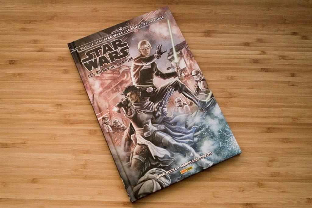 Les Ruines de l'Empire, par Greg Rucka et Marco Checchetto, édité par Panini Comics